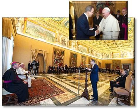 ban ki-moon at vatican