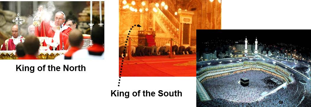 king of north-south-mecca