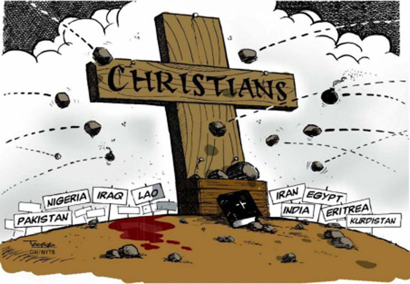 cross persecuted