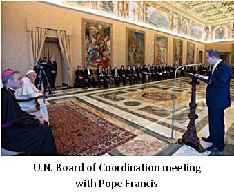 UN mtg w-Pope