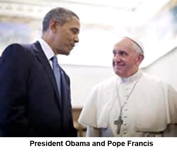 pres obama pope francis